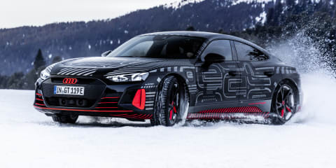 2021 Audi E-Tron GT teased, February 9 debut confirmed