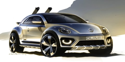 Volkswagen Beetle Dune concept : rugged Bug teased
