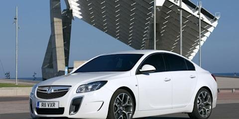 2009 Vauxhall Insignia VXR revealed