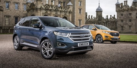 Ford Edge large SUV confirmed for Australia, but not until 2018