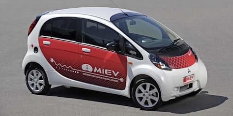 Mitsubishi i MiEV concept at MIMS