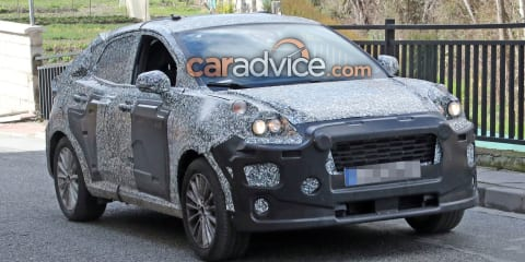 Ford EcoSport replacement spied