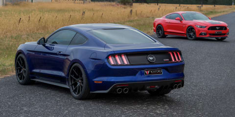 2017 Tickford Ford Mustang GT and EcoBoost warranty-backed power upgrades unleashed by Tickford
