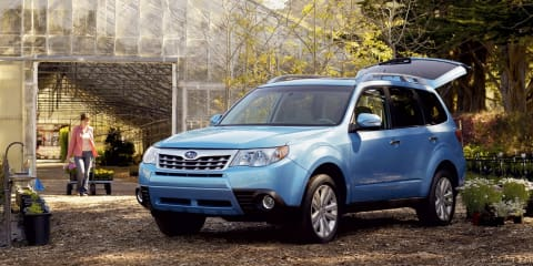 2011 Subaru Forester revisions