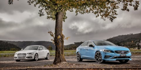 Audi S4 v Volvo S60 Polestar : Comparison Review