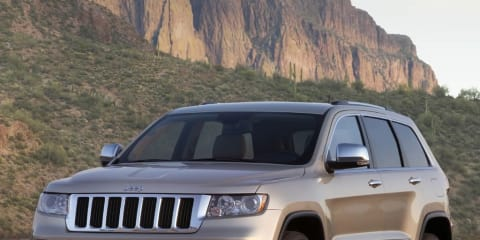 2009 Jeep Grand Cherokee goes on show