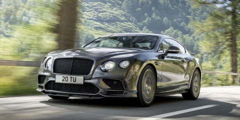 2017 Bentley Continental Supersports: World's fastest four-seater revealed