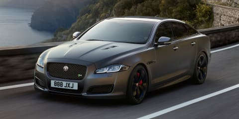 2018 Jaguar XJR575 headlines updated range, Australian debut confirmed