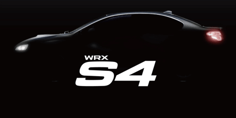 Subaru WRX S4 teased prior to August reveal