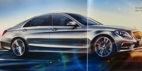 Mercedes-Benz S-Class: leaked brochure reveals specifications