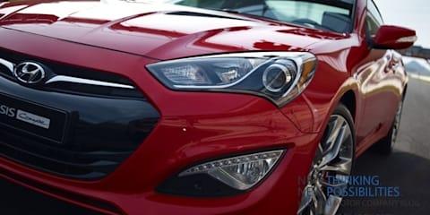 2013 Hyundai Genesis Coupe sneak peek ahead of Detroit
