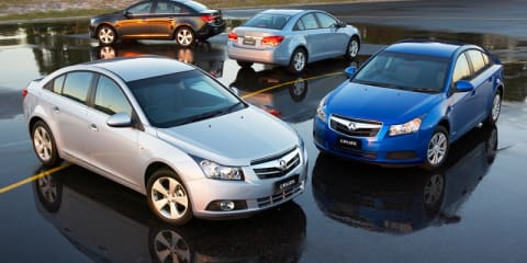 2009 Holden Cruze - First Steer