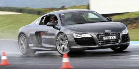Audi Drive Experience: improving skills behind the wheel
