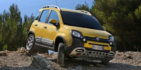 2014 Fiat Panda Cross revealed : New images and further details of 4x4 baby SUV
