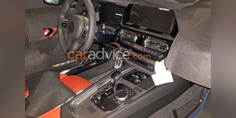 2019 BMW Z4 interior spied with less camouflage