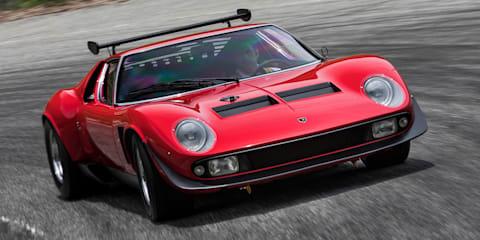 Lamborghini resurrects '72 Miura SVR
