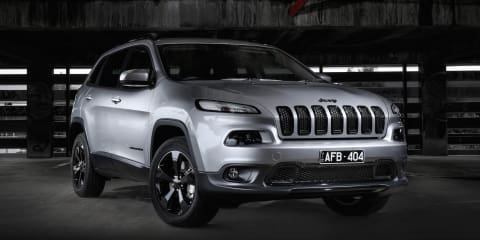 Jeep Cherokee, Grand Cherokee Blackhawk specials launched