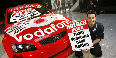 Holden Commodore for Team Vodafone in 2010