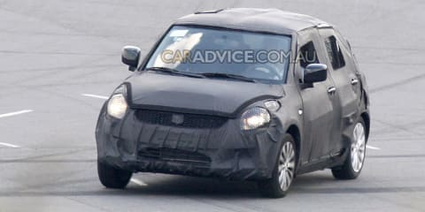 2010 Suzuki Swift prototype spied