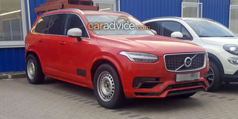 Volvo 'ute' spied in XC90 clothing