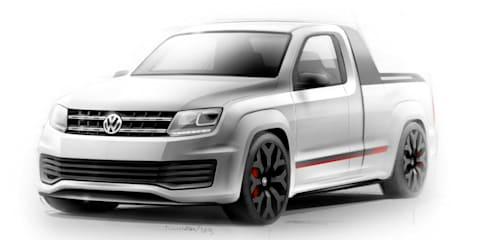 Volkswagen Amarok R-Style: 600Nm sports ute concept teased