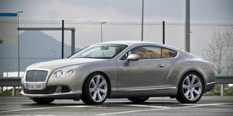 2011 Bentley Continental GT spied