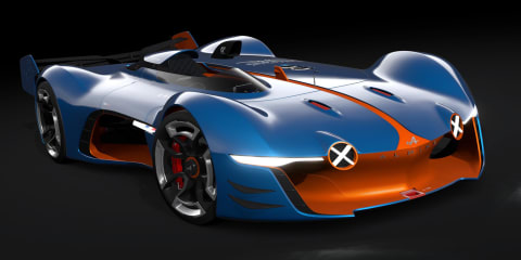 Alpine Vision Gran Turismo previews some styling cues of 2016 Renault sports car