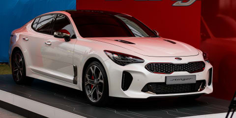 2018 Kia Stinger GT: Korean show-stopper lobs Down Under to ace Australian Open crowds