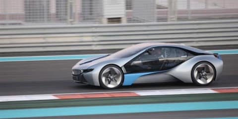 Video: BMW i8 to be based on BMW EfficientDynamics Concept