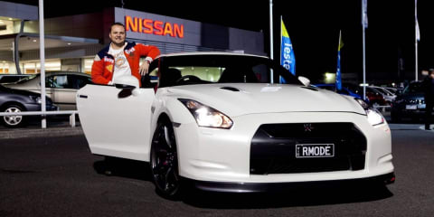 First Nissan GT-R unleashed at midnight