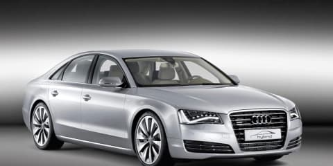 Audi A8 Hybrid revealed at Geneva 2010