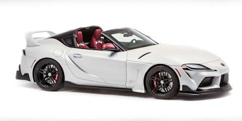 Toyota GR Supra Sport Top concept revealed