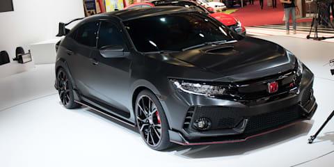 2017 Honda Civic Type R previewed in Paris
