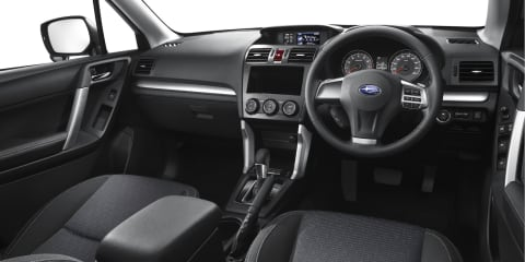 2013 Subaru Forester interior revealed in full image gallery