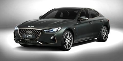 2018 Genesis G70: Australian details