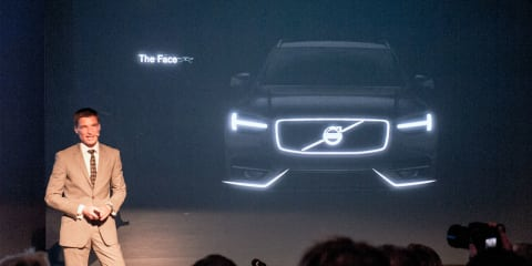 2014 Volvo XC90: second-gen luxury SUV teased