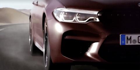 2018 BMW M5 teased ahead of August 21 debut