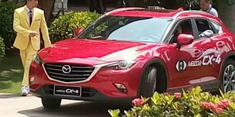 2017 Mazda CX-4 appears undisguised ahead of Beijing debut