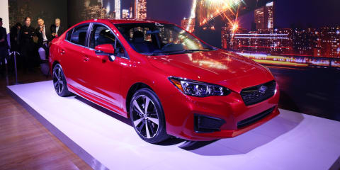 2017 Subaru Impreza revealed online ahead of New York debut - UPDATE