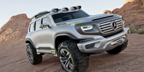 Mercedes-Benz Ener-G-Force design study