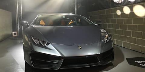 Lamborghini Huracan LP580-2 rear-wheel-drive coupe unveiled in Australia