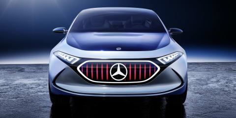Mercedes-Benz preparing new EQ concept for Frankfurt