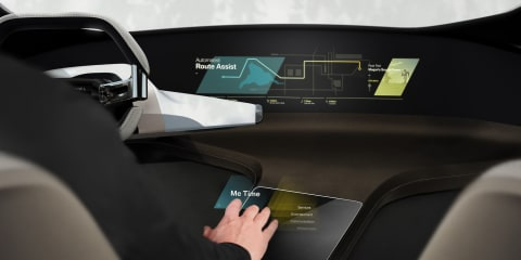 BMW HoloActive Touch system previewed ahead of CES debut