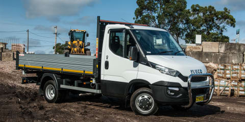 2016 Iveco Daily Review: Cab-chassis three-way tipper