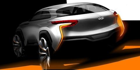 Hyundai Intrado concept previews new design language, fuel cell system