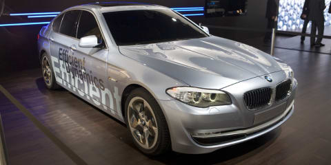 BMW 5 Series and Active Hybrid debut at Geneva 2010