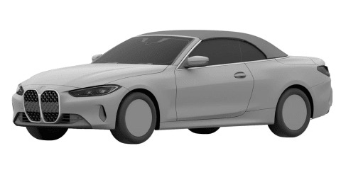2021 BMW 4 Series convertible revealed in patent images