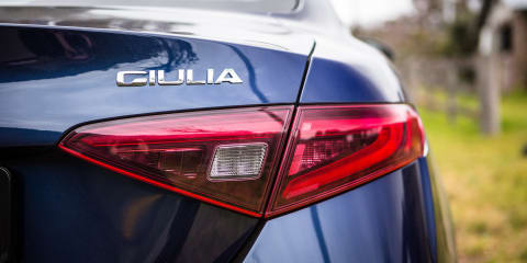 Alfa Romeo Old v New: 2017 Giulia v 1990 75 Twin Spark