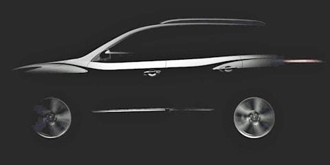 Nissan Pathfinder Concept previewed in teaser image