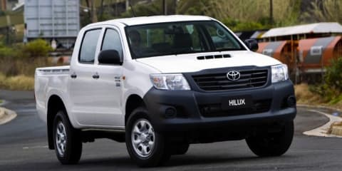 2012 TOYOTA HILUX WORKMATE Review